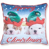 Merry Christmas Dogs Cushion Cover (43 x 43cm) 433265