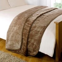 Mink Design Bed Throw 200 x 240cm 437321