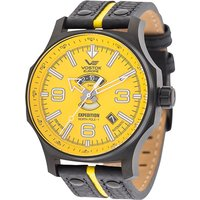 Vostok Europe Gents Automatic Expedition N1 Watch with PVD Plated Case and Genuine Leather Strap 438260