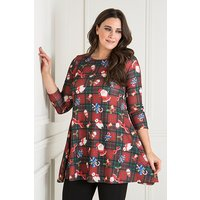 Nouvelle Christmas Print Long Sleeve Swi 438872
