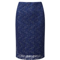Lavitta Sparkle Lace Pencil Skirt 24in 439654