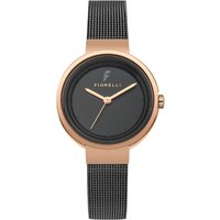 Fiorelli Ladies Watch with Skinny Milanese Bracelet 439876
