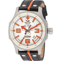 Vostok Europe Gents Expedition N1 Automatic Watch with Interchangeable Straps and Dry Box 440929