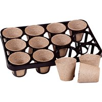 Skelly Tray and Jiffy Bio Pots for 120 Plants