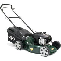 Webb Supreme Push 4 Wheel Petrol Rotary Lawnmower 46cm - 18in