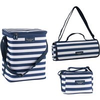 Upright Family Cool Bag, Personal Cool Bag and Extra Large Picnic Blanket Bundle