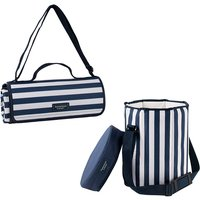 Extra Large Picnic Blanket and Seat Cooler Bundle