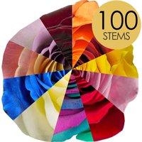 100 Classic Bespoke Roses