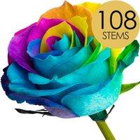 108 Wholesale Happy Roses