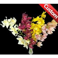 4 Classic Bespoke Cymbidium Orchids