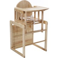 East Coast Wooden Combination Highchair-Natural