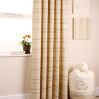 Bed e Byes Spike & Buzz Curtains Lined Tab Top Long with Tie Backs