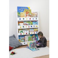 Tidy Books Bookcase With Alphabet-White - Books Gifts