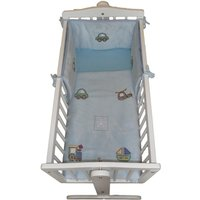 Babyco Hop-N-Go Collection 2 Pieces Crib Set for Newborn-Blue