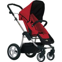 First Wheels City Elite Stroller-Red CLEARANCE
