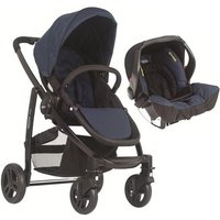 Graco Evo 2in1 Travel System-Navy