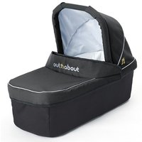 Out n About Nipper Double Carrycot-Black