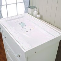 East Coast Silver Cloud Changing Mat-Counting Sheep