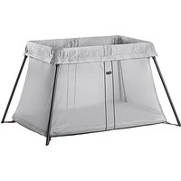 BabyBjorn Travel Cot Light-Silver (New 2018) - Baby Gifts
