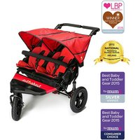 Out n About Nipper Double 360 V4 Stroller-Carnival Red - Shopping Gifts