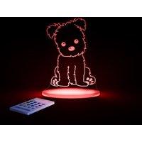 Aloka Multi Coloured Childrens Night Light-Puppy