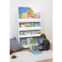 Tidy Books Bookcase-White - Books Gifts