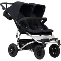 Mountain Buggy Duet V3 Twin Stroller-Black