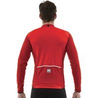 Santini Tempo LS Cycling Jersey Red