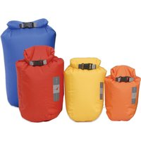 Exped Fold Drybags 4 Pack Orange/Yellow/Red/Blue