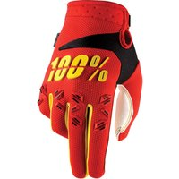 100 Percent Airmatic Gloves Red