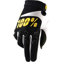 100 Percent Airmatic Gloves Black/Yellow