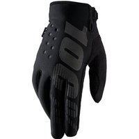 100 Percent Brisker Gloves Black