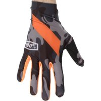 100 Percent Celium Gloves Black/Camo