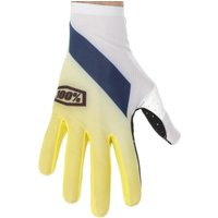 100 Percent Celium Gloves Yellow/Red