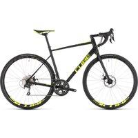 Cube Attain Race Disc Road Bike 2019 Black-Yellow