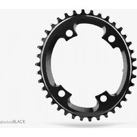 Absolute Black Cyclocross Oval Chainring Black
