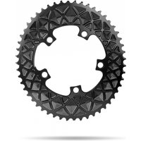 Absolute Black Oval 110 BCD Chainring Black