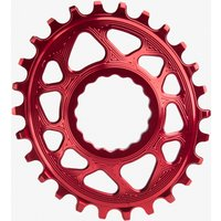 Absolute Black Raceface Cinch Direct Mount Boost Oval Chainring Red