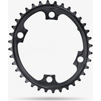 Absolute Black Shimano 110 BCD Oval Road Chainring