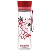 Aladdin Aveo Clear Tritan Water Bottle 600ml Red