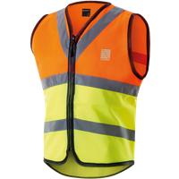 Altura Childrens Night Vision Safety Vest Hi-Vis Orange/Grey/Yellow