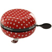 Basil Polkadot Big Bell Red/White