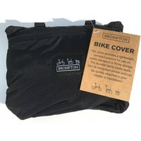 Brompton Bike Cover with Integrated Pouch Black