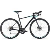Cube Axial Race Disc Womens Road Bike 2018 Iridium-Mint
