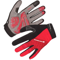 Endura Hummvee Plus Gloves Red