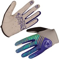 Endura Hummvee Lite Womens Gloves Cobalt Blue