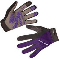Endura Hummvee Plus Womens Gloves Purple