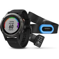 garmin fenix 5 gps watch performer bundle slate grey