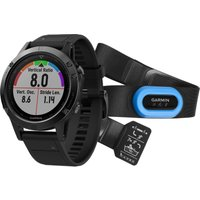 garmin fenix 5 sapphire gps watch performer bundle black