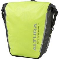 Altura Night Vision Waterproof Pannier Bag 20L Hi Vis Yellow